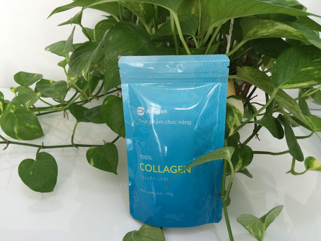 amigen collagen vĩnh hoàn dạng bột từ cá nuốc ngọt